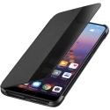 HUAWEI-VIEWP20NOIR - Huawei P20 Etui latéral SmartView avec fenêtre coloris noir