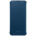 HUAWEIFOLIOPSMART19BL - Etui folio origine Huawei P-Smart 2019 coloris bleu