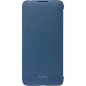 HUAWEIFOLIOY72019BLEU - Etui folio origine Huawei Y7-2019 coloris bleu
