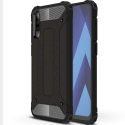 HYBRID-A40NOIR - Coque Hybride Galaxy A40 antichoc bi-matières coloris noir