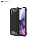 HYBRID-A41NOIR - Coque Hybride Galaxy A41 antichoc bi-matières coloris noir