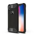 HYBRID-IPXRNOIR - Coque iPhone XR antichoc hybride noire