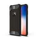 HYBRID-IPXSMAXNOIR - Coque iPhone XS-Max antichoc hybride noire
