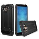 HYBRID-MATE10NOIR - Coque Huawei Mate-10 hybride renforcée et antichoc coloris noir