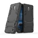 HYBRID-NOKIA2NOIR - Coque hybride Nokia-2 noire antichoc