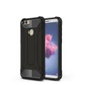 HYBRID-PSMARTNOIR - Coque Huawei P-Smart hybride renforcée et antichoc coloris noir