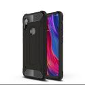 HYBRID-REDMINOTE6PRO - Coque Redmi-Note 6 Pro hybride renforcée et antichoc coloris noir