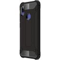 HYBRID-REDMINOTE7 - Coque Redmi-Note 7 hybride renforcée et antichoc coloris noir