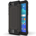 HYBRID-Y52018NOIR - Coque Huawei Y5-2018 hybride renforcée et antichoc coloris noir