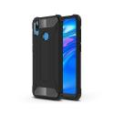 HYBRID-Y72019NOIR - Coque Huawei Y7-2019 hybride renforcée et antichoc coloris noir