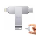 IDISKK-64GUSBC - Clé stockage mémoire iDiskk 64 Go iPhone iOS et USB-C