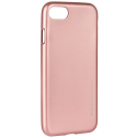 IJELLY-IP8ROSE - Coque souple iPhone 7/8 gel TPU rose doré iJelly de Goospery