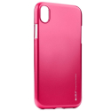 IJELLY-IPXRFUSHIA - Coque souple iPhone XR gel TPU fushia iJelly de Goospery
