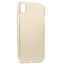 IJELLY-IPXRGOLD - Coque souple iPhone XR gel TPU gold iJelly de Goospery