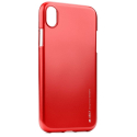 IJELLY-IPXRROUGE - Coque souple iPhone XR gel TPU rouge iJelly de Goospery