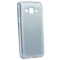 IJELLY-J32016SILVER - Coque souple Galaxy J3-2016 en gel TPU gris iJelly de Goospery