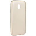 IJELLY-J32017GOLD - Coque souple Galaxy J3-2017 en gel TPU gold iJelly de Goospery