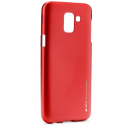 IJELLY-J62018ROUGE - Coque souple Galaxy J6-2018 en gel TPU rouge iJelly de Goospery