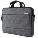 INCASE-CITY15GRIS - Sac bandoulière Incase City MacBook 15 pouces coloris gris chiné