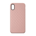 INCASE-INPH190378-RG - Coque Incase iPhone X série Facet coloris rose avec relief