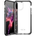 ITSKINS-IP11PMAXSUPREMFUM - Coque iPhone 11 pro max souple et antichoc ItSkins avec coins renforcés coloris transparent et noir