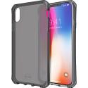 ITSKINS-IPXRFUME - Coque iPhone XR souple et antichoc ItSkins avec coins renforcés coloris gris