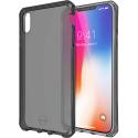 ITSKINS-IPXSMAXFUME - Coque iPhone XS MAX souple et antichoc ItSkins avec coins renforcés coloris gris