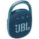 JBL-CLIP4BLEU - Enceinte tout terrain JBL Clip 4 coloris bleu avec mousqueton métallique