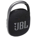 JBL-CLIP4NOIR - Enceinte tout terrain JBL Clip 4 coloris noir avec mousqueton métallique