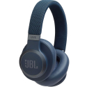 JBL-LIVE650BTBLEU - Casque bluetooth JBL Live 650BT bleu à suppression de bruit ambiant