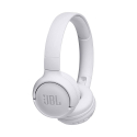 JBL-T500BTBLANC - Casque JBL Tune T500BT Bluetooth blanc super basses