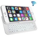KEYBIP6QWERTYBLANC - Keyboard iPhone 6s Coque avec clavier coulissant format QWERTY coloris blanc