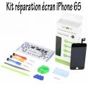 KITSOS-IP6SNOIR - Kit réparation écran iPhone 6s noir avec outils et plan organiseur visserie