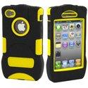 KKN-IPH4-Y - Coque Trident Kraken jaune pour iPhone 4