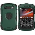 KKN2-9930-BG - Coque Trident Kraken II verte pour Blackberry Bold 9900 9930 avec clip ceinture