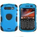 KKN2-9930-BL - Coque Trident Kraken II bleue pour Blackberry Bold 9900 9930 avec clip ceinture