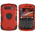 KKN2-9930-RD - Coque Trident Kraken II rouge pour Blackberry Bold 9900 9930 avec clip ceinture