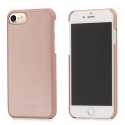 KNOMO-SNAPON-IP8ROSE - Coque de luxe KNOMO Snap-On pour iPhone 6/7/8 coloris rose gold