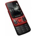 KONROW-SLIDERROUGE - Téléphone Konrow Slider rouge bluetooth double-SIM