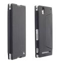 KRUMALMO-T2NOIR - Etui Krusell MALMO pour Sony Xperia T2-Ultra coloris noir