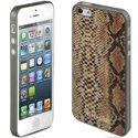 KUBXLABSNAKEOR - Coque Kubxlab effet peau de serpent or iPhone 5