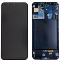 LCD-GALAXYA50 - Ecran complet origine Samsung Galaxy A50 coloris noir GH82-19204A