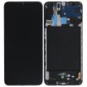 LCD-GALAXYA70NOIR - Ecran complet origine Samsung Galaxy A70 coloris noir