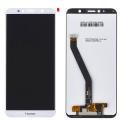 LCD-HONOR7ABLANC - Ecran complet Honor 7A blanc vitre tactile et dalle afficheur LCD