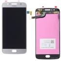 LCD-MOTOG5SGRIS - Ecran complet Moto G5s Vitre tactile et dalle LCD gris silver