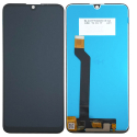 LCD-WIKOVIEW3 - Vitre et écran LCD Wiko View-3 coloris noir