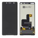 LCD-XZ2COMPNOIR - Ecran complet vitre tactile + LCD Xperia XZ2 Compact noir origine Sony