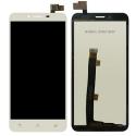 LCD-ZC553KLBLANC - Ecran complet Asus Zenfone 3 Max Plus ZE553KL blanc vitre tactile + LCD