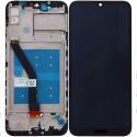 LCDCHASSIS-Y6S - Ecran complet Huawei Y6s et Honor 8A Vitre tactile + LCD sur chassis coloris noir