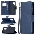 LCIMEEKE-A325GBLEU - Etui Galaxy A32(5G) LC-IMEEKE haut de gamme bleu logements carte fonction stand